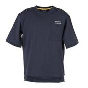 半袖Tシャツ JP スウェット ポケット ショートスリーブプルオーバー 5023331-6350