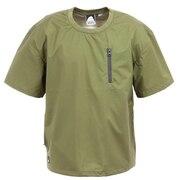 カットソー ウォータープルーフ半袖Tシャツ 20953345-73.KHK