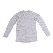 長袖アンダー シャツ スーパーメリノウール L.W. ラウンドネックシャツ 1107661 LTSV
