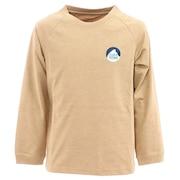 ジュニア 7daysロングスリーブTシャツ 20944632-02.BEG