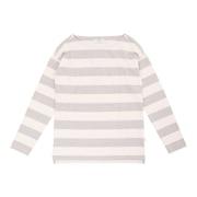ルッセ ストライプ 長袖Tシャツ ZTF064J-GRY