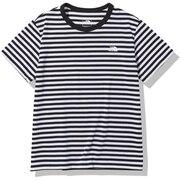 半袖Tシャツ ショートスリーブマルチボーダーTシャツ NTW32138 K