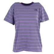半袖Tシャツ ショートスリーブマルチボーダーTシャツ NTW32138 PO