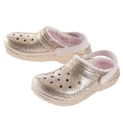 ジュニア Classic Glitter Lined Clog 205937-2UB