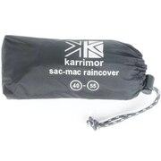 レインカバー40-55L/S sac mac raincover 40-55L/S 80212-Black バッグアクセサリ