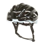 【店頭展開による多少の傷汚れあり】プロトーネ PROTONE 2048000000895 BLK/WHT サイクルロードバイク ヘルメット
