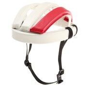 カスクレザー ヘルメット 4016V WHITE×RED