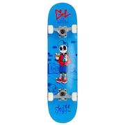 スケートボード コンプリートセット 子供 SKULLY ENU2100 BLU
