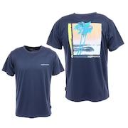LAZY SUN UVカット ラッシュガード Tシャツ QLY201078NVY