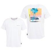 LAZY SUN UVカット ラッシュガード Tシャツ QLY201078WHT
