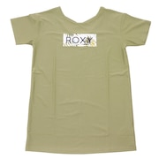 ラッシュ Tシャツ UVカット LEAF WAVE ROXYTシャツ RLY202013KHA
