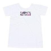 ラッシュ Tシャツ UVカット LEAF WAVE ROXYTシャツ RLY202013WHT