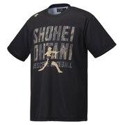 ベースボールTシャツ 大谷コレクション DBMPJA60SH BK