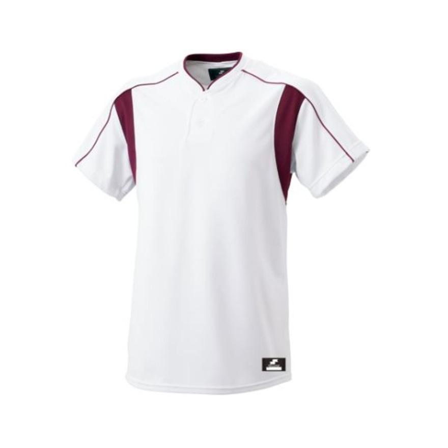 SSK ジュニア 2ボタンベースボールTシャツ BW2080J-1022 140 116 野球