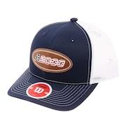 野球 帽子 A2000レザーパッチメッシュキャップ WTA7115USOSFM