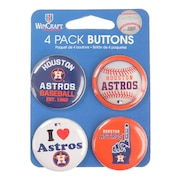 野球 Houston Astros 缶バッジ