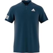 テニスウェア クラブ 3ストライプス ポロシャツ 22589-GL5458
