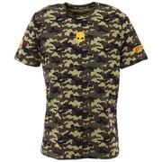 テニスウェア プリントテックTシャツ T00252 CAMO M
