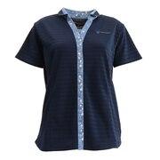 テニスウェア ドライプラス ボーダー ポロシャツ HU20FLS733056NVY