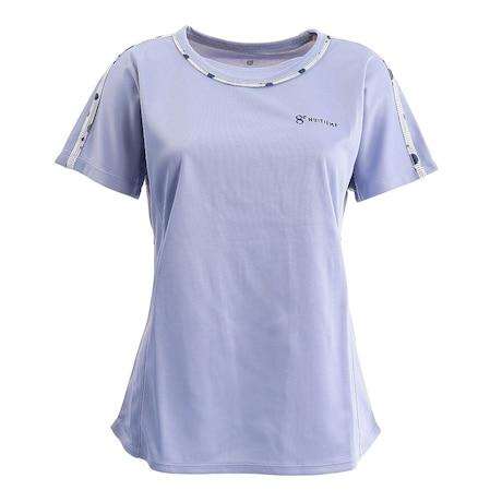 テニス ドライプラス プリント Tシャツ HU20FLS733053LBLU