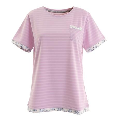 テニス ドライプラス ボーダー Tシャツ HU20FLS733057LIL