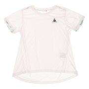 テニスウェア レディース 半袖Tシャツ QTWQJA05  WHT