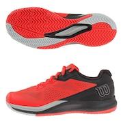 オールコート用 テニスシューズ RUSH PRO 3.5 RD/BK/BL WRS327140U