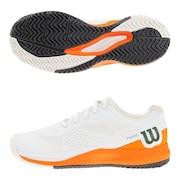 オールコート用 テニスシューズ レディース RUSH PRO 3.5 AC PARIS Wh WRS327730U