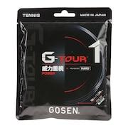 硬式テニスストリング G-TOUR1 TSGT10BK