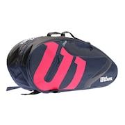 テニス ラケットケース TEAMJ 1.0 6本用 NVPK WR8014702001