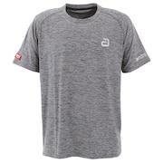 メランジTシャツ アルファGRY 302052