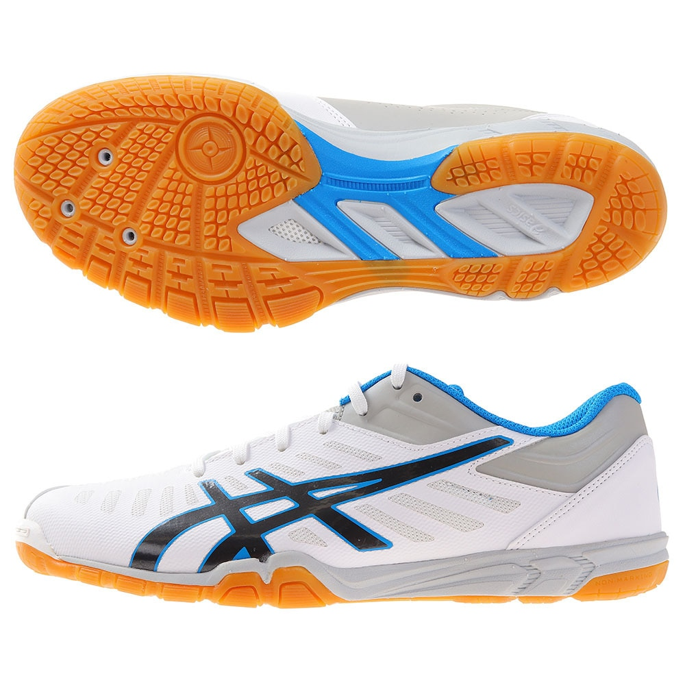 ASICS 1073A002 アタック EXCOUNTER 2 745013-0100 27.5 10 卓球
