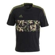 サッカーウェア TIRO 半袖Tシャツ AOP IWQ23-GU8189