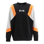 クルーネックスウェットシャツ カラーブロック SMJ201450