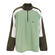 ハーフジップ シューティングシャツ 121-002110 GR
