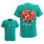 リトルストライプ クルーネック 半袖Tシャツ GUS54-FM4968