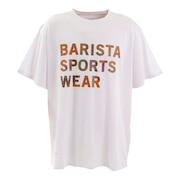 BARISTA LOGO Tシャツ 220-063005 WH