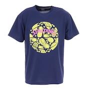 バスケットボールウェア Tシャツ トロピカル SMT210070NV