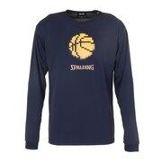 ロングスリーブTシャツ ピクセルバスケットボール SMT201290NV
