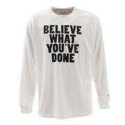 ドライプラス 長袖Tシャツ 751G0ES1618 WHT