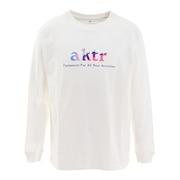 MULTICOLOR LOGO 長袖Tシャツ 121-050005 WH