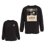 SUNRISE 長袖Tシャツ 121-052005 BK