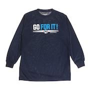 ジュニア ドライプラス 長袖Tシャツ 751G0ES1643 NVY