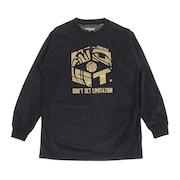 ジュニア ドライプラス 長袖Tシャツ 751G0ES1644 BLK