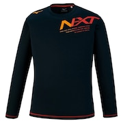 N-XT プラクティス長袖Tシャツ V2MA059196