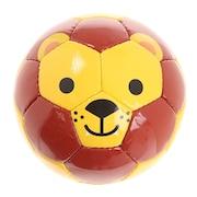 幼児用ボール FOOTBALL ZOO ライオン  BSF-ZOO06