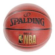 バスケットボール ゴールド 7号球 NBAロゴ入り 76-562J