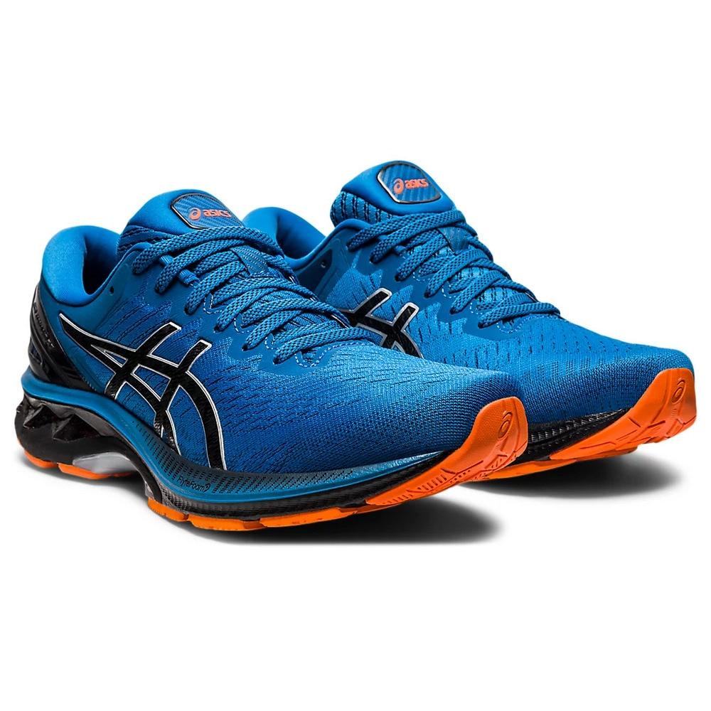 ASICS ランニングシューズ ゲルカヤノ27 GEL-KAYANO 27 1011A767.402 ジョギングシューズ ブルー マラソン 28.0 90 シューズ