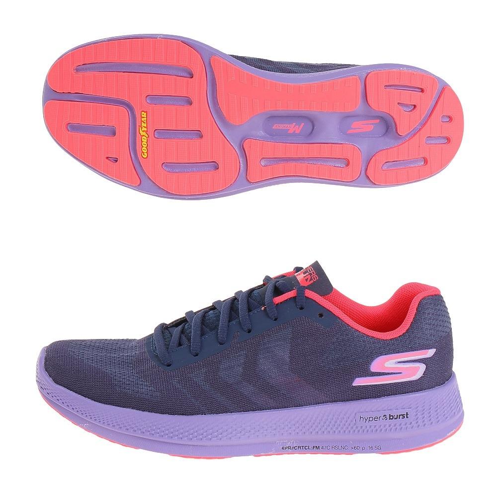 SKECHERS ランニングシューズ ジョギングシューズ GO RUN RAZOR + 130001-NVPR 23.0 48 アウトドア