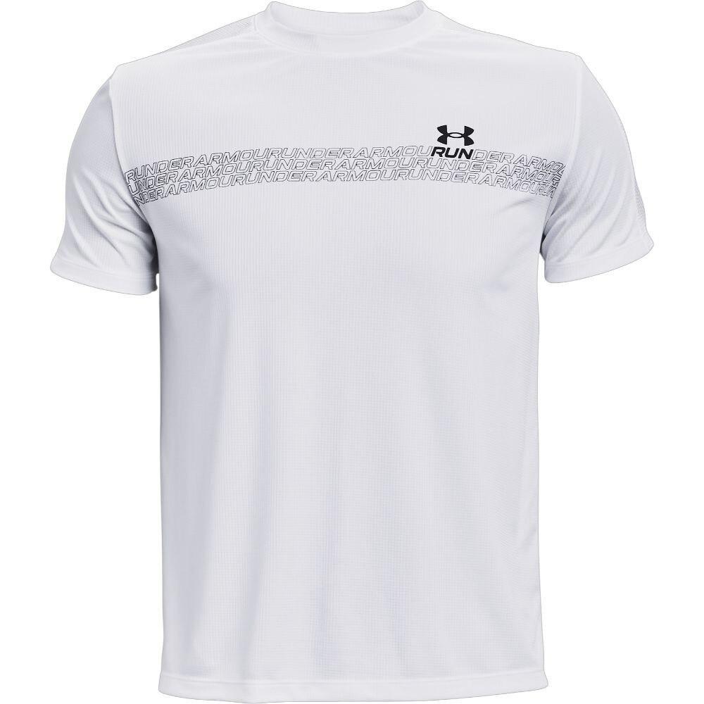 アンダーアーマー ランニング スピードストライド グラフィック ショートスリーブ 半袖 Tシャツ 1361480 100 S 10 ランニング
